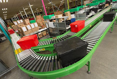 Powered roller conveyors - LB Foster