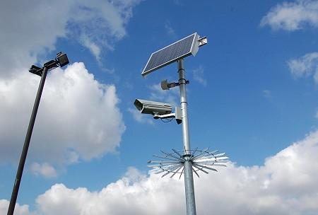 Solar gateway CCTV - LB Foster